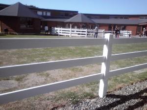 樹脂製放牧柵 ②