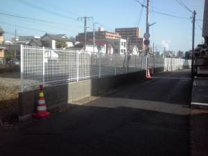 道路境界フェンス